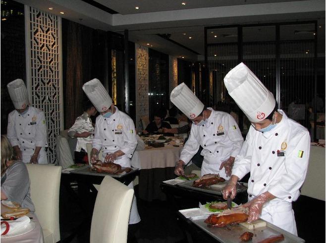 Uno de los mejores restaurantes de la capital china.