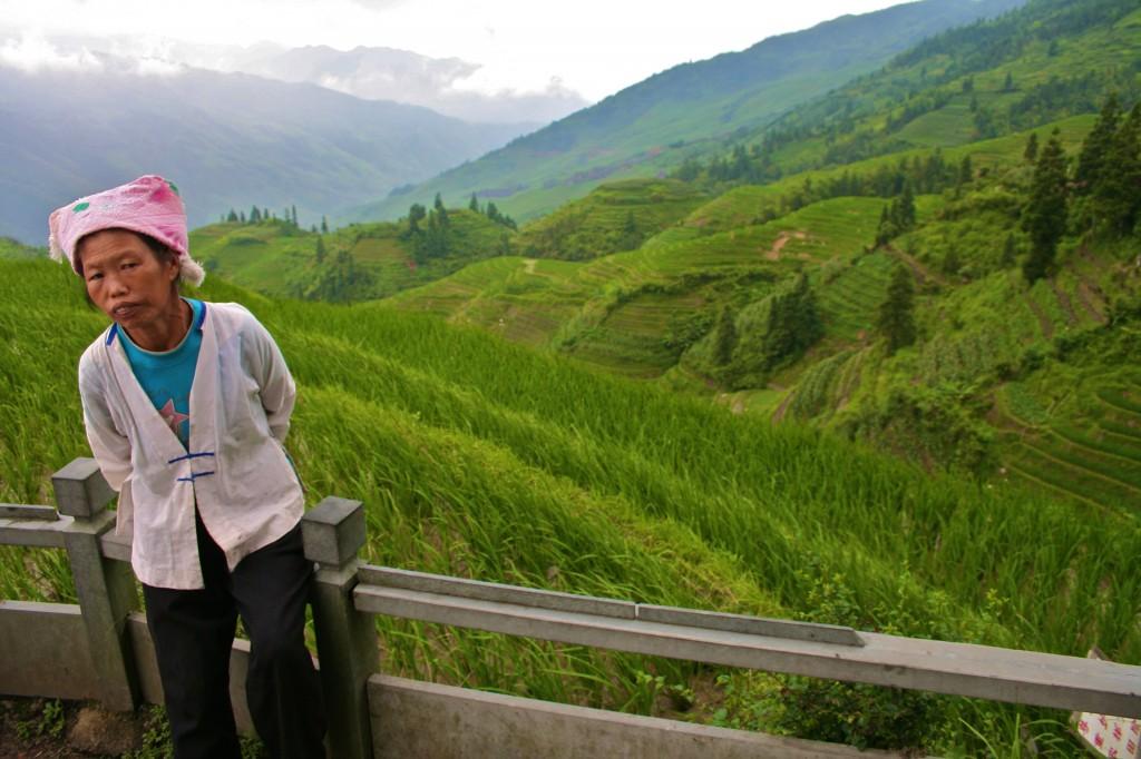 Arrozales de Longsheng, China.