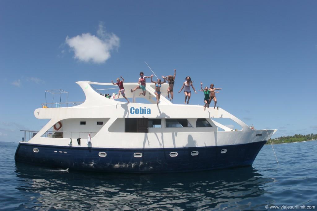 De surfari en Maldivas