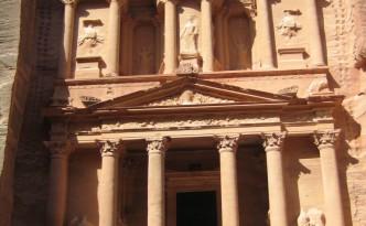 El Tesoro, en Petra (Jordania).