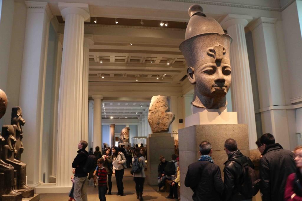 El Museo Británico tienes los mayores tesoros museísticos del mundo.