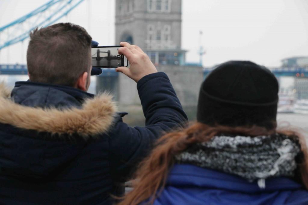 El puente más fotografiado de Londres.