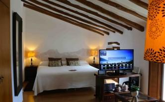 Todas las habitaciones del hotel Cases Noves (Guadalest) tienen un ipad con información útil.