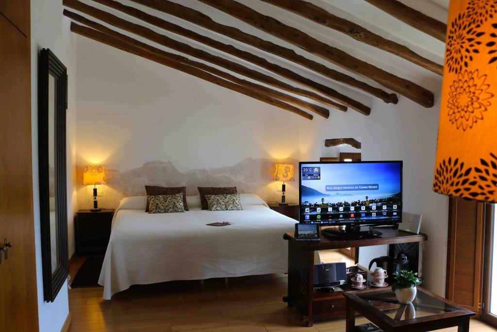 un hotel con vistas en el interior de alicante