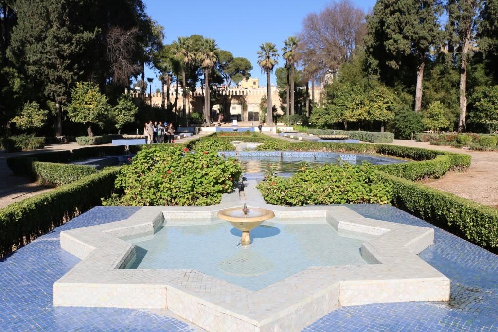 Los jardines de Fez.