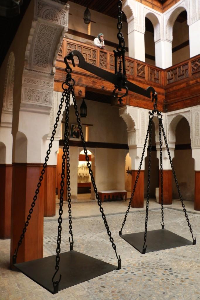 La Casa de la Madera de Fez.
