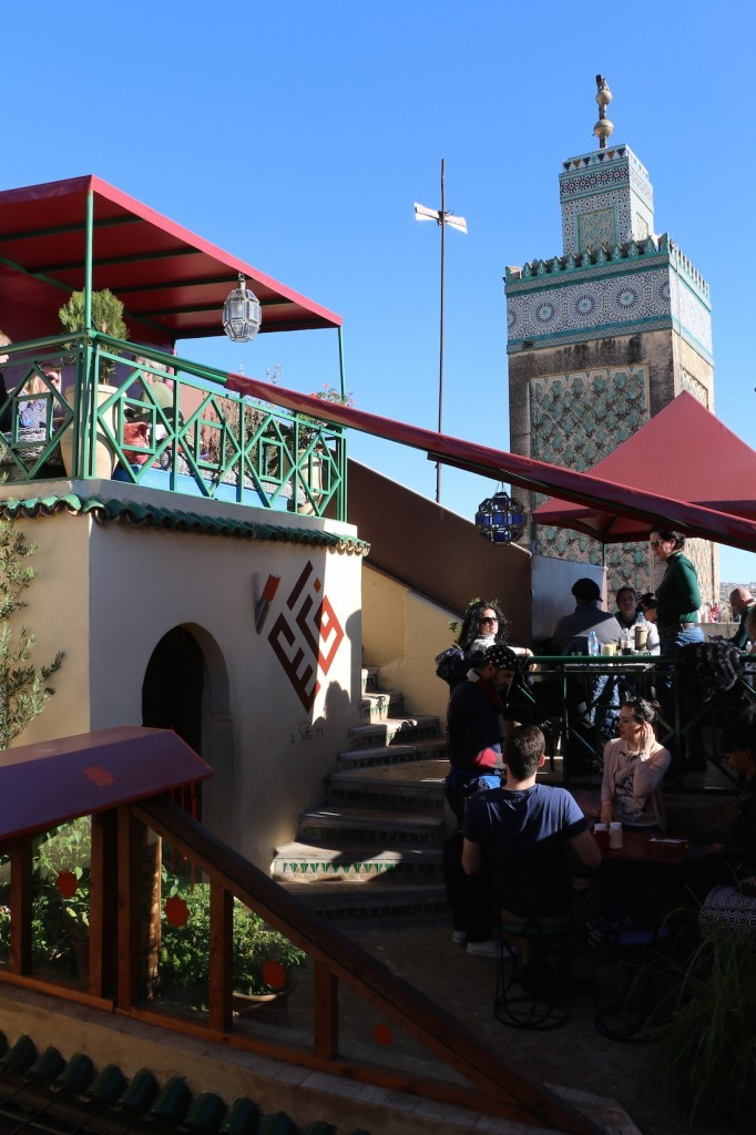 El café O'clock es un clásico cultural de la ciudad de Fez.
