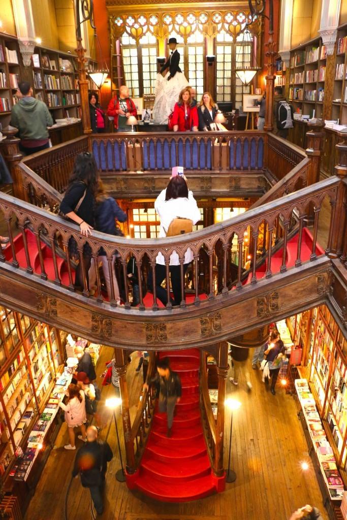 Harry Potter nunca estuvo en la Librería Lello de Oporto (Portugal).
