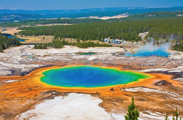 Parque Nacional de Yellowstone.