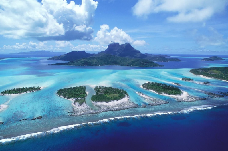 Las islas Fiji.