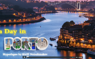 """Vídeo de """"A Day in Porto""""."""